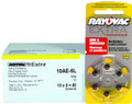 Rayovac 10AE Hearing Aid Batteries 10 Wheels 6 Per Wheel + FREE SHIPPING