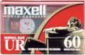 Maxell UR 60 Audio Cassette Tape