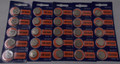Sony CR1620 3V Lithium Coin Battery - 25 Pack + FREE SHIPPING!