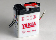 6 Volt 2 AMP Motorcycle and Power Sport Battery (6N2-2A-7)