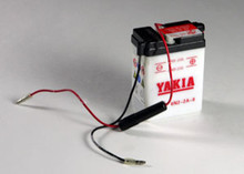 6 Volt 2 AMP Motorcycle and Power Sport Battery (6N2-2A-8)