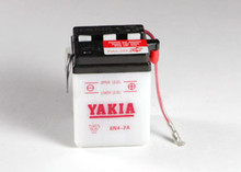6 Volt 2 AMP Motorcycle and Power Sport Battery (6N4-2A)