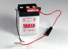 6 Volt 4 AMP Motorcycle and Power Sport Battery (6N4-2A-8)