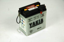 6 Volt 6 AMP Motorcycle and Power Sport Battery (6N6-1C)