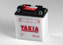 6 Volt 7 AMP Motorcycle and Power Sport Battery (6N6-3B)