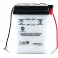 6N4-2A-5 6 Volt 4 Amp Hrs Conventional Power Sport Battery