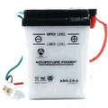 6N4-2A-6 6 Volt 4 Amp Hrs Conventional Power Sport Battery