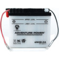 6N4B-2A 6 Volt 4 Amp Hrs Conventional Power Sport Battery