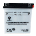 12N5-3B 12 Volt 5 Amp Hrs Conventional Power Sport Battery