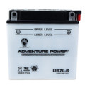 YB7L-B 12 Volt 8 Amp Hrs Conventional Power Sport Battery
