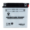 YB9L-B 12 Volt 9 Amp Hrs Conventional Power Sport Battery