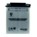 YB14-B2 12 Volt 14 Amp Hrs Conventional Power Sport Battery