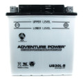 YB30L-B 12 Volt 30 Amp Hrs Conventional Power Sport Battery