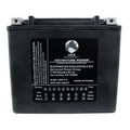 65991-82B / YTX20-BS 12 Volt 19 Amp Hrs Sealed AGM / V-Twin Heavy Duty Power Sport Battery