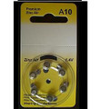 A10 Zinc Air Hearing Aid Batteries - 10 Wheels - 6 Batteries Per Wheel + FREE SHIPPING!