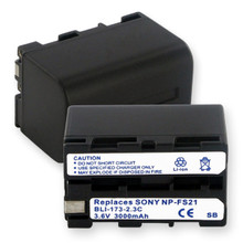 SONY NP-F20  LI-ION 3000mAh Video Battery