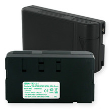 NMH RCA BB-060  and  HITACHI BP-82 Video Battery
