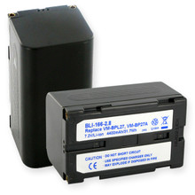 RCA and HITACHI VM-BPL27A LI-ION 4600mAh Video Battery