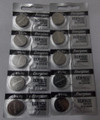 Energizer CR1632 3V Lithium Coin Battery - 10 Pack +  FREE SHIPPING!