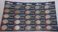 Renata CR2025 3V Lithium Coin Battery - 25 Pack + FREE SHIPPING
