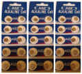 AG2 / LR726 Alkaline Button Watch Battery 1.5V - 30 Pack - FREE SHIPPING