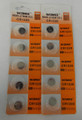 BBW CR1220 3V Lithium Coin Battery  10 Pack -  FREE SHIPPING!