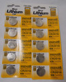 Maxell CR2016 3 Volt Lithium Coin Battery - 10 Pack -  FREE SHIPPING!