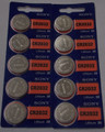 Sony CR2032 3V Lithium Coin Battery - 10 Pack + FREE SHIPPING