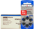 Rayovac 675AE Hearing Aid Batteries 20 Wheels 6 Per Wheel + FREE SHIPPING