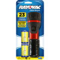 "Rayovac ""Value Bright""  Flashlight With 2D Batteries + Free Shipping"