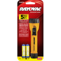 Rayovac Flashlight with 2AA  Batteries + FREE SHIPPING!