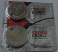 Maxell CR2032 3 Volt Lithium Coin Battery - 2 Pack - FREE Shipping