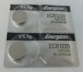 Energizer CR1220 3V Lithium Coin Battery - 2 Pack + FREE SHIPPING!