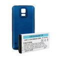SAMSUNG GALAXY S5 EXTENDED BATTERY W/NFC BLUE COVER + FREE SHIPPING