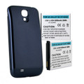 SAMSUNG GALAXY S4 5.2Ah EXTENDED NFC BATTERY WITH BLUE COVER + FREE SHIPPING