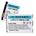 LG MOTION 4G MS770 3.7V 1200mAh LI-ION BATTERY + FREE SHIPPING