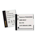 PANASONIC DMW-BCK7 3.6V 650MAH BATTERY + FREE SHIPPING