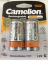 Camelion Advanced Formula C Rechargeable NiMH Batteries 3500mAh 2 Pack Retail + FREE SHIPPING!