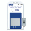 DUAL USB PORT 1A/2.1A TRAVEL CHARGER + FREE SHIPPING
