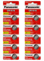 Panasonic CR1616 3V Lithium Coin Battery - 10 Pack + FREE SHIPPING!