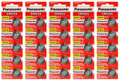 Panasonic CR2025 3V Lithium Coin Battery - 50 Pack + FREE SHIPPING!