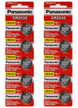 Panasonic CR2032 3V Lithium Coin Battery - 10 Pack + FREE SHIPPING!