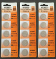 BBW CR2016 3V Lithium Coin Battery 15 Pack -  FREE SHIPPING!