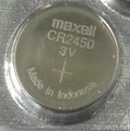 Maxell CR2450 3V Lithium Coin Battery - 1 Pack + FREE SHIPPING!