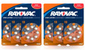 Rayovac Hearing Aid Batteries Size 13 - 48 Batteries + FREE SHIPPING!