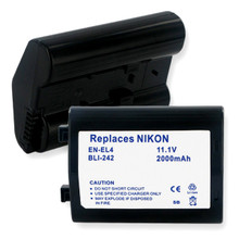 NIKON EN-EL4 LI-ION 2000mAh Digital Battery