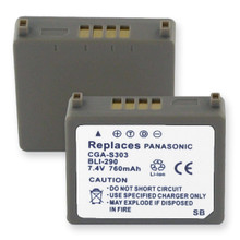 PANASONIC CGA-S303 L-ION .76Ah Cellular Battery