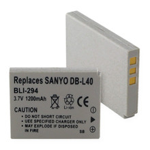 SANYO DB-L40 LI-ION 1200mAh Digital Battery