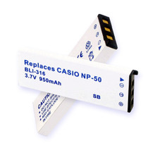 CASIO NP-50 LI-ION 950mAh Video Battery