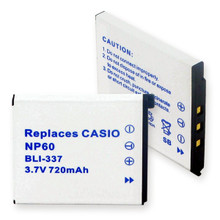 CASIO NP-60 LI-ION 720mAh Video Battery